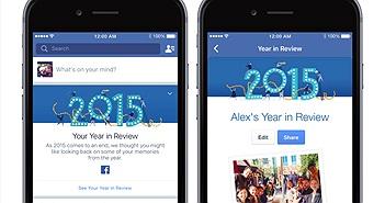 Bạn trẻ rộn ràng với ứng dụng Year in review của Facebook
