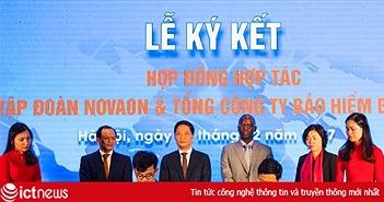 """Novaon """"bắt tay"""" Bảo hiểm Bảo Việt hỗ trợ 1000 doanh nghiệp xuất khẩu online"""