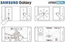 Samsung nhận bằng sáng chế điện thoại Android 2 màn hình gập, có bút S Pen