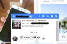 Virus đào tiền ảo dưới dạng file Zip đang lây lan chóng mặt qua Facebook Messenger ở VN