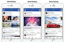 Facebook triệt hạ các bài đăng câu tương tác