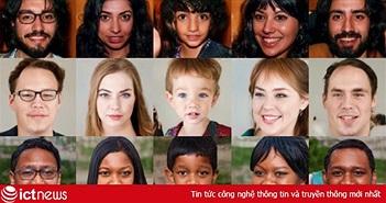 Nhìn những khuôn mặt này có giống người thật không? Ảo đấy, toàn AI tạo ra cả