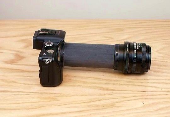 Tự chế ống nối chụp Macro thật dễ