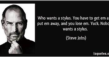 5 thứ Apple đã làm trái ý Steve Jobs