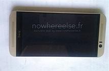HTC One M9 lần đầu lộ ảnh, thiết kế không khác nhiều so với M8