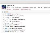 """Hơn 1.800 thông tin tài khoản game Minecraft bị """"trưng"""" trên mạng"""