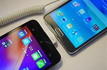Zenfone 2 vs Note 4: phablet đối đầu phablet