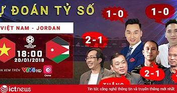 Dự đoán tỷ số trận Việt Nam vs Jordan tối nay: ĐT Việt Nam sẽ lọt vào Tứ kết Asian Cup 2019