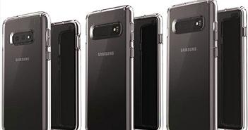 Ảnh render ốp lưng mới nhất cho thấy thiết kế hoàn chỉnh của bộ 3 Galaxy S10