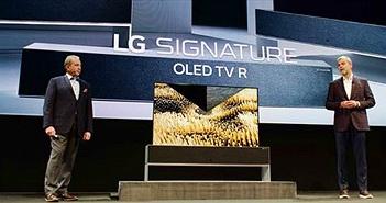 TV OLED cuộn R9 là mẫu TV Ấn tượng nhất CES 2019