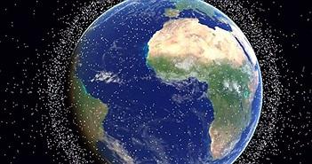 Hơn 128 triệu mảnh vụn rác thải vũ trụ đang bủa vây Trái đất