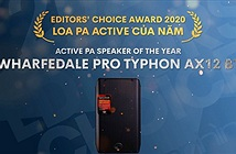 Editors Choice Awards 2020 - Wharfedale Typhon AX12BT – Loa PA Active của năm