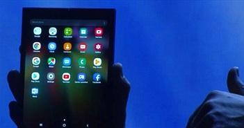 Xác nhận: Smartphone gập lại của Samsung có tên là Galaxy Fold