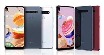 LG ra mắt K61, K51S, K41S: 4 camera sau, màn hình nốt ruồi