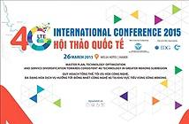 Hội thảo quốc tế 4G LTE tiểu vùng sông Mekong lần thứ nhất năm 2015
