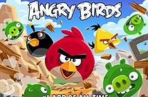 Angry Birds giảm 73% doanh thu trong năm ngoái
