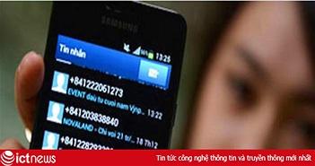 Hà Nội cắt dịch vụ 104 số điện thoại quảng cáo sai quy định, phát tán SMS rác