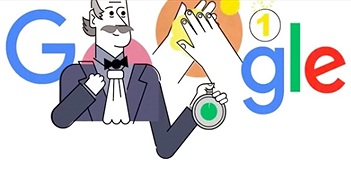 Nhân vật bí ẩn đằng sau bức ảnh rửa tay diệt khuẩn mùa dịch Covid-19 của Google
