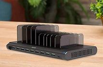 Đế sạc 10 cổng USB 120W giải pháp để sạc tất cả thiết bị cùng lúc