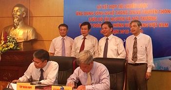 Bộ TN&MT và VNPT hợp tác chiến lược về CNTT