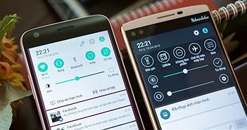 Sự khác biệt giữa giao diện LG G5 và LG V10 qua 8 tấm ảnh