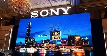 Sony giới thiệu dòng TV 4K HDR mới tại Việt Nam