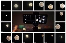 Thử săn trăng ngày rằm qua lăng kính Huawei P30 pro