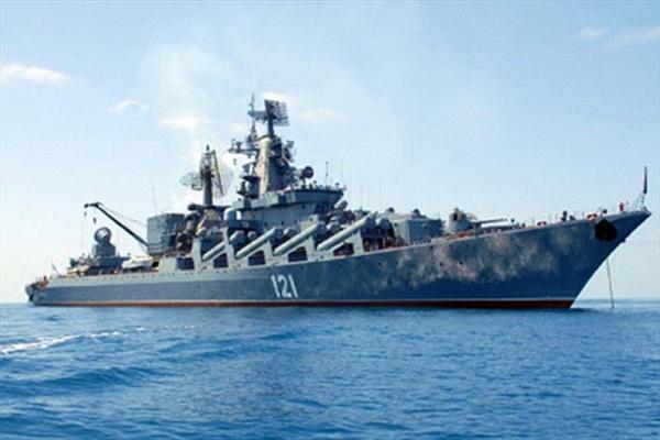 Hải quân Nga điều động tàu tuần dương tên lửa Moskva đến Syria