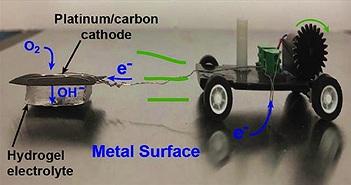 """Robot có thể tự nạp lại pin bằng cách """"ăn kim loại"""""""
