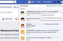 Mẹo để tắt tính năng cập nhật từ bạn bè trên Facebook