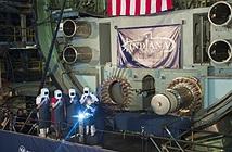 Toàn cảnh khởi đóng tàu ngầm  Virginia thứ 16 của Mỹ