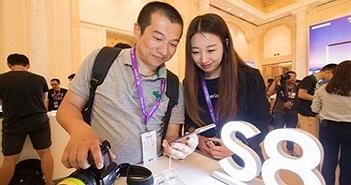 Ra mắt điện thoại thông minh Galaxy S8 tại Trung Quốc