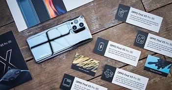 Khui hộp đặc biệt OPPO Find X3 Pro 5G tại Việt Nam: giá 26,9 triệu quà tặng hơn 6 triệu