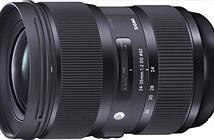 Sigma 24-35mm F2 DG HSM Art chính thức: Ống Zoom góc rộng khẩu độ lớn nhất cho máy Full Frame