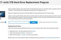 Apple thay miễn phí ổ cứng dành cho iMac (27-inch)