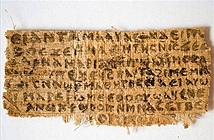 Cố thư nói về vợ Chúa Jesus có thể là giả