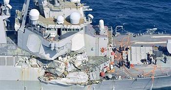 Vì sao tàu khu trục USS Fitzgerald bị tông nát bét?
