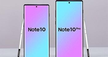 Samsung Galaxy Note10 có thể phát âm thanh qua màn hình