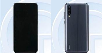 Xiaomi Mi CC9e lộ diện: 3 camera sau, vân tay dưới màn hình