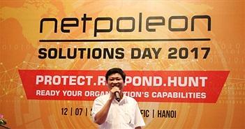 Ngày hội giải pháp Netpoleon Solutions Day 2017- 3 bước bảo vệ an toàn thông tin mạng quan trọng là gì?