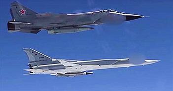 MiG-31K mang tên lửa Kinzhal tập trận cùng Tu-22M3, cả châu Âu nín thở