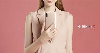 Xiaomi Mi Max 3 chính thức: màn hình 6,9 inch, chip Snapdragon 636, pin 5.500mAh
