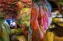 Bí ẩn hang động màu cầu vồng có khả năng chữa bách bệnh bị lãng quên ở Mỹ