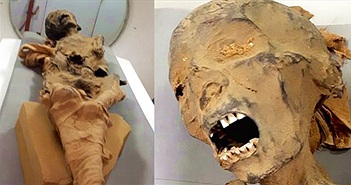 """Bí ẩn xác ướp """"công chúa la hét"""" trong mộ cổ 3.000 năm"""