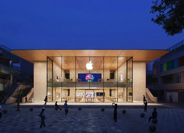 Apple vừa khai trương cửa hàng Apple Store đẹp nhất tại Trung Quốc