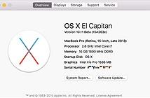 Đã có cập nhật OS X 10.11 El Capitan mới cho cả kênh Developer lẫn Public Beta, mời tải về