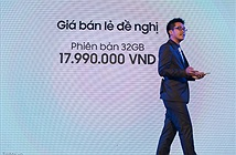 Galaxy Note 5 chính thức: 17,9 triệu đồng, 32GB, màu vàng và đen, 29/8 bán