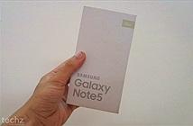 Trên tay Galaxy Note 5 Hàn Quốc: Máy đẹp, thiết kế giống Galaxy S6