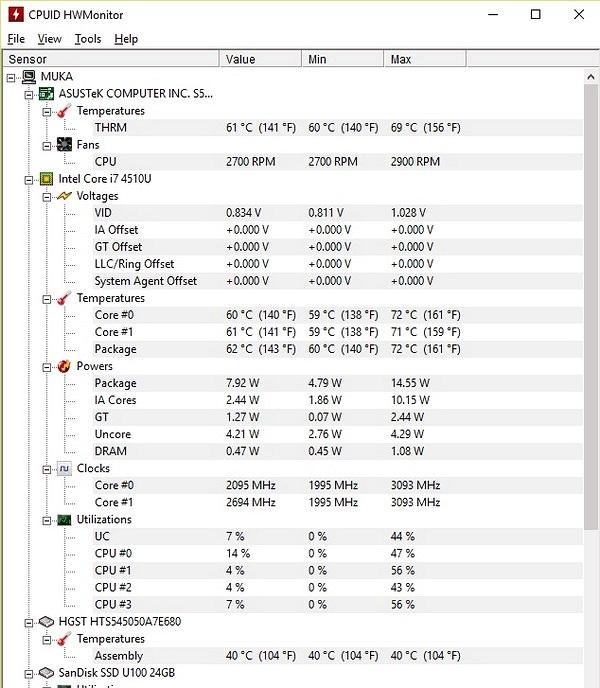 Quản lý nhiệt độ linh kiện trên máy tính để kéo dài tuổi thọ sử dụng