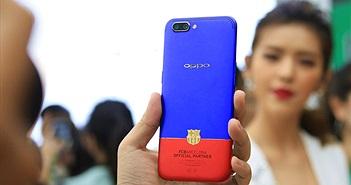 Trên tay Oppo R11 phiên bản FC Barcelona Edition tại Việt Nam